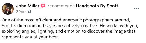Headshots By Scott Review